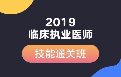 2019年澳门永利娱乐场的网站执业医师实践技能通关班