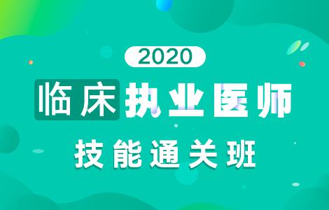 2020临床执业医师技能通关班