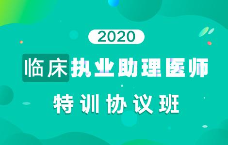 【协议】2020临床执业助理医师特训协议班
