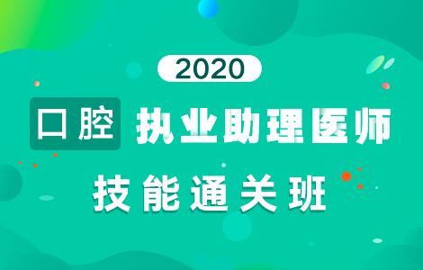 2020口腔执业助理医师技能通关班
