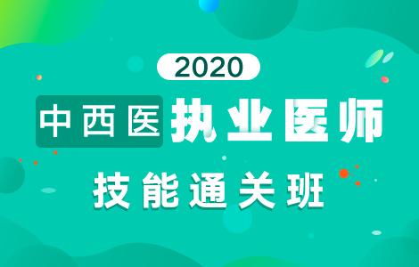 2020中西医执业医师技能通关班